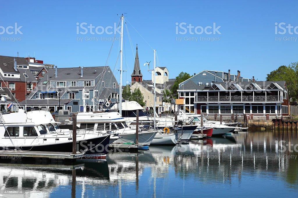 Salem Massachusetts stock photo