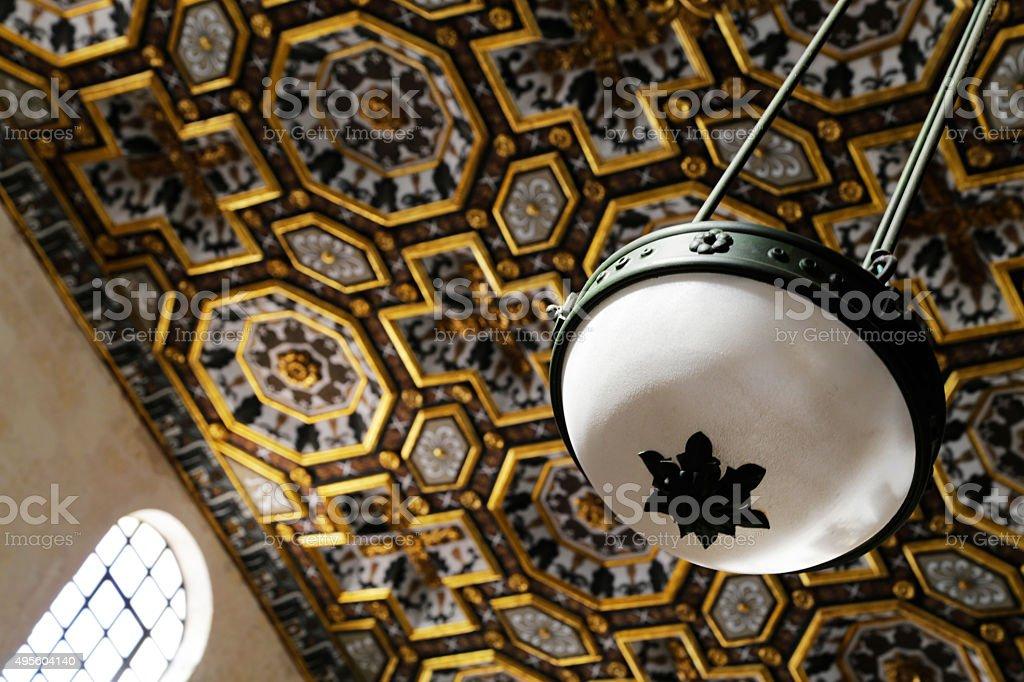 Salento - Basilica di Santa Maria dei martiri (Otranto) royalty-free stock photo