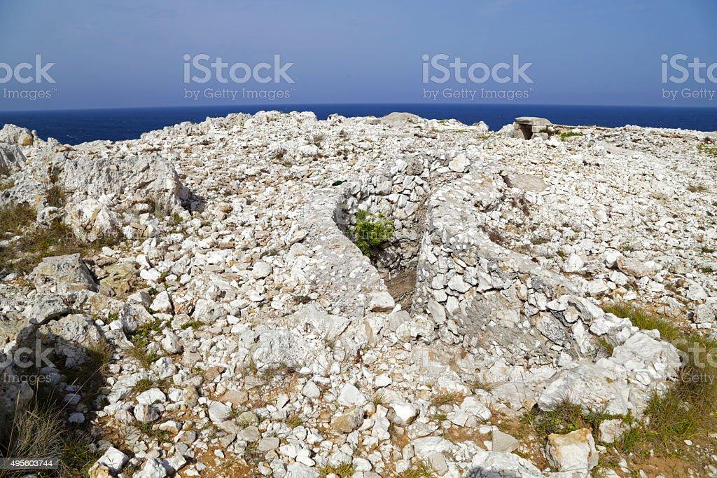 Salento - Capo d'Otranto (Otranto) stock photo
