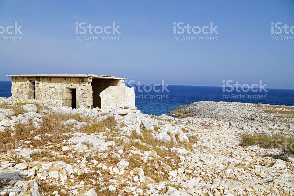 Salento - Capo d'Otranto (Otranto) royalty-free stock photo