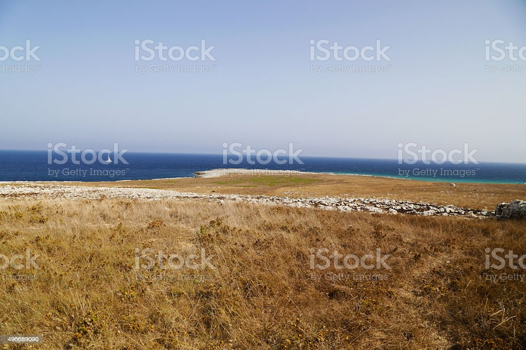 Salento - Capo D'Otranto (Otranto) royalty-free stock photo