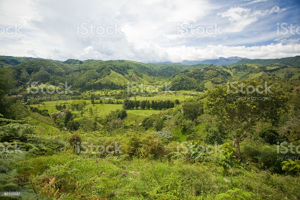 Salento, Colombia royalty-free stock photo