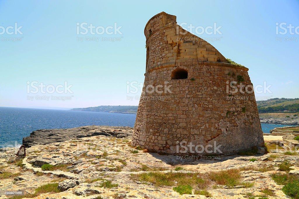 Salento - Torre Miggiano (Santa Cesare Terme) royalty-free stock photo