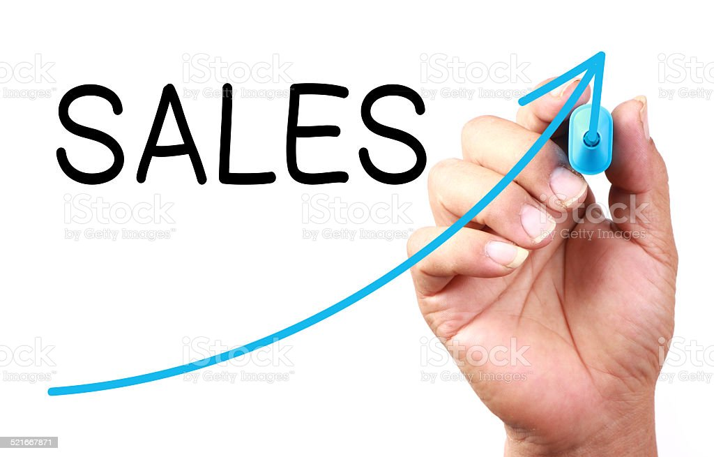 Sales Growth stock photo