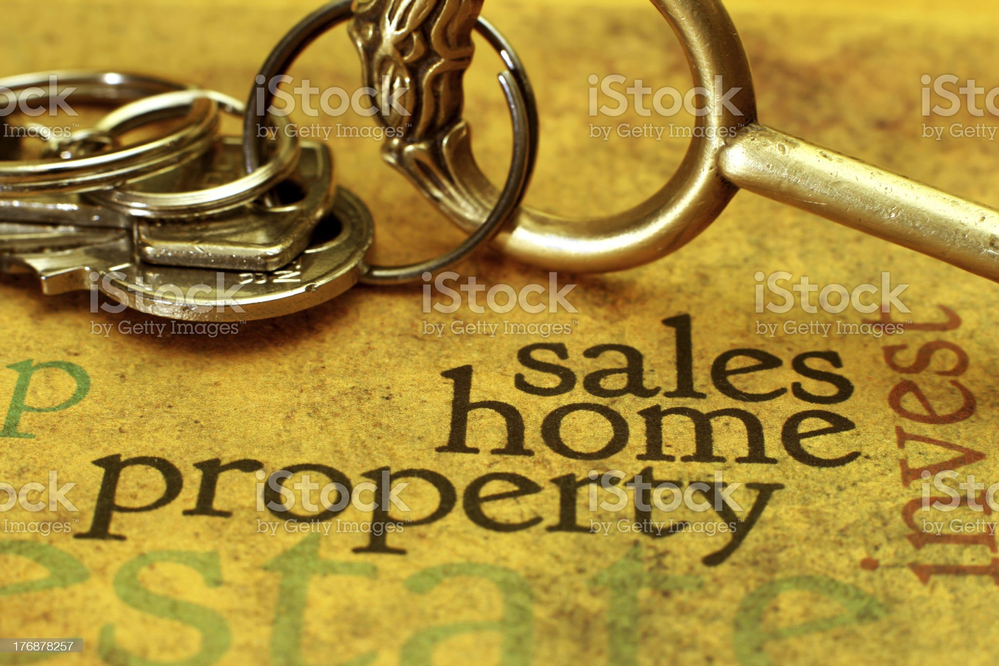 Sales home  concept royalty-free stock photo