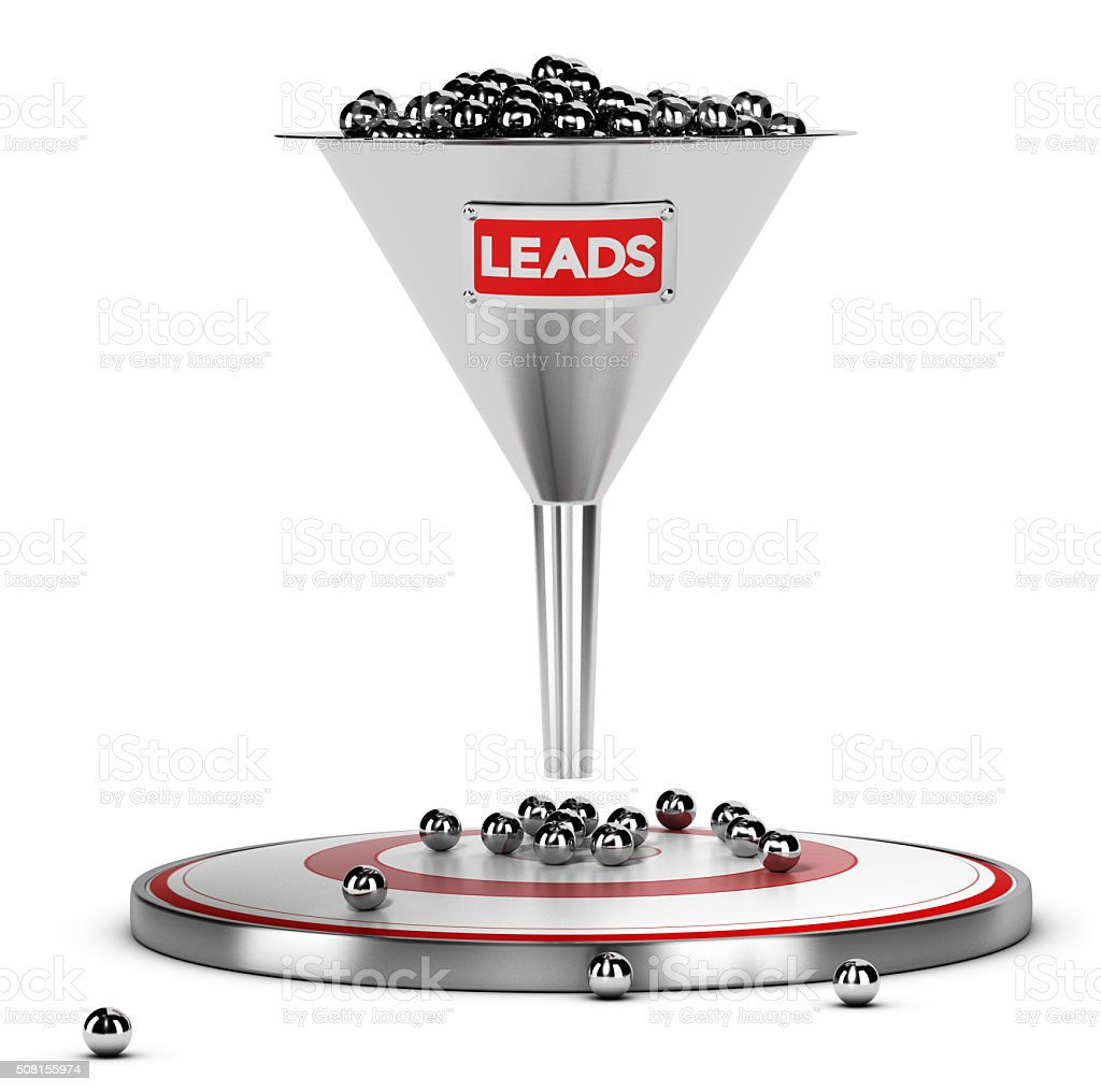 Sales Lead Nurturing stock photo