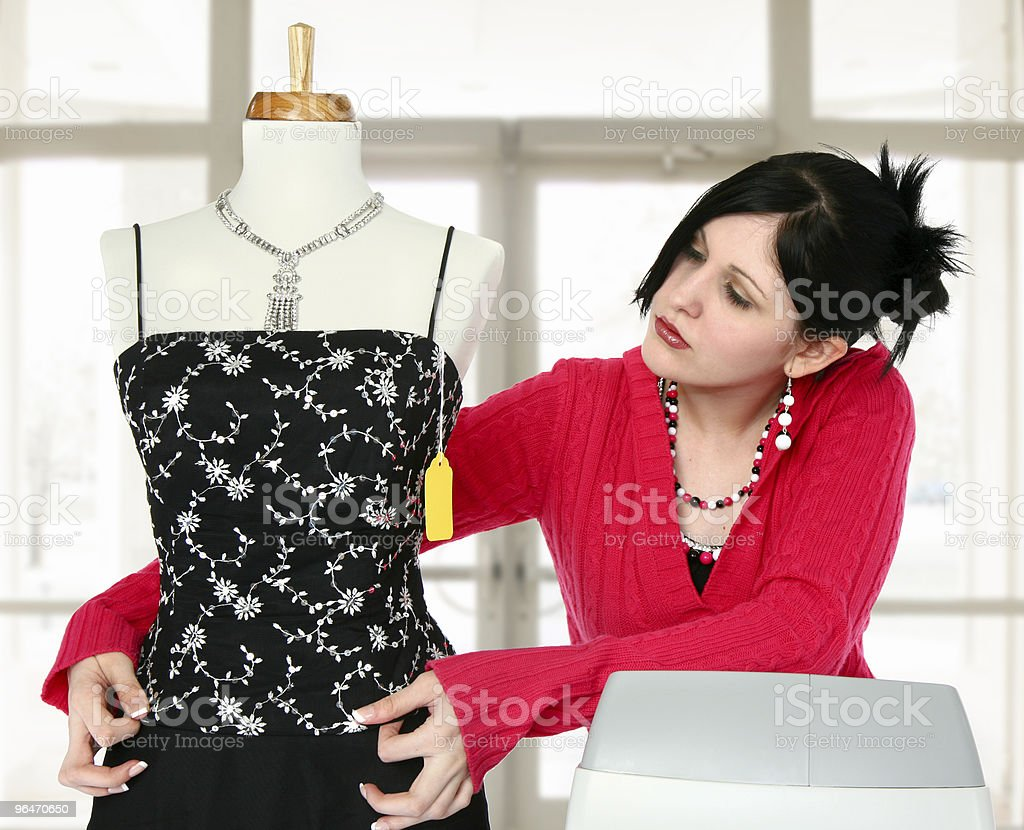 Sales Person stock photo