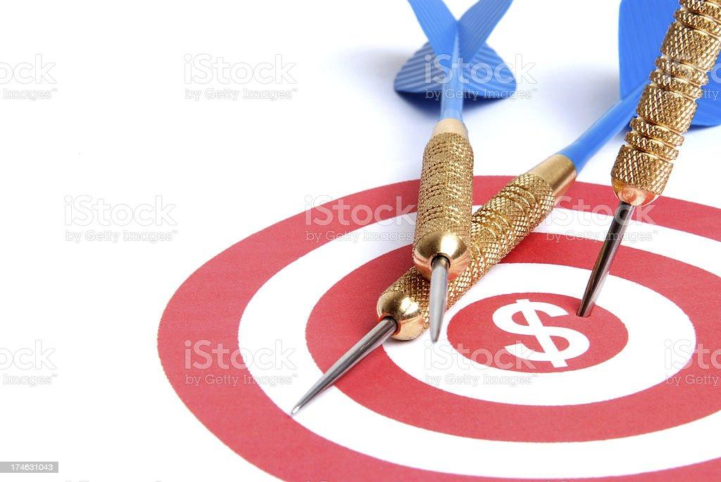 Sales Target stock photo