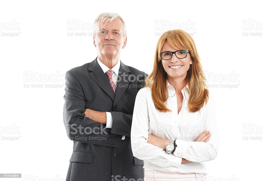 Sales team portrait stock photo