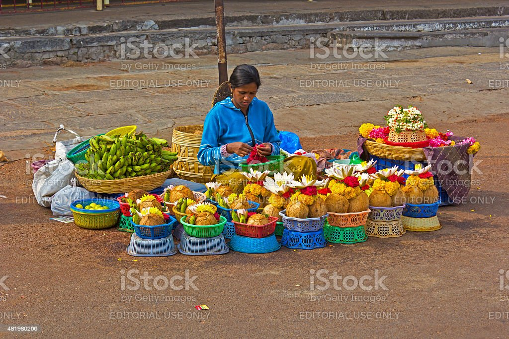Sales the worshipping items stock photo