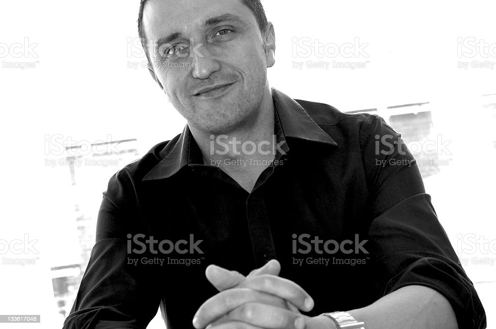 Salesman royalty-free stock photo