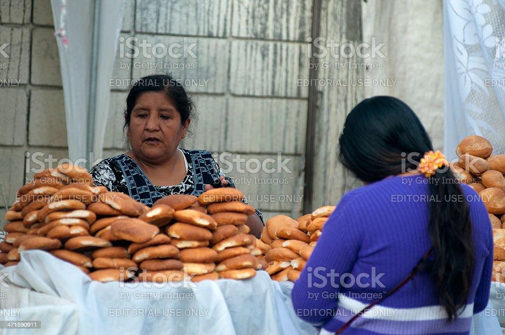 Saleswoman royalty-free stock photo