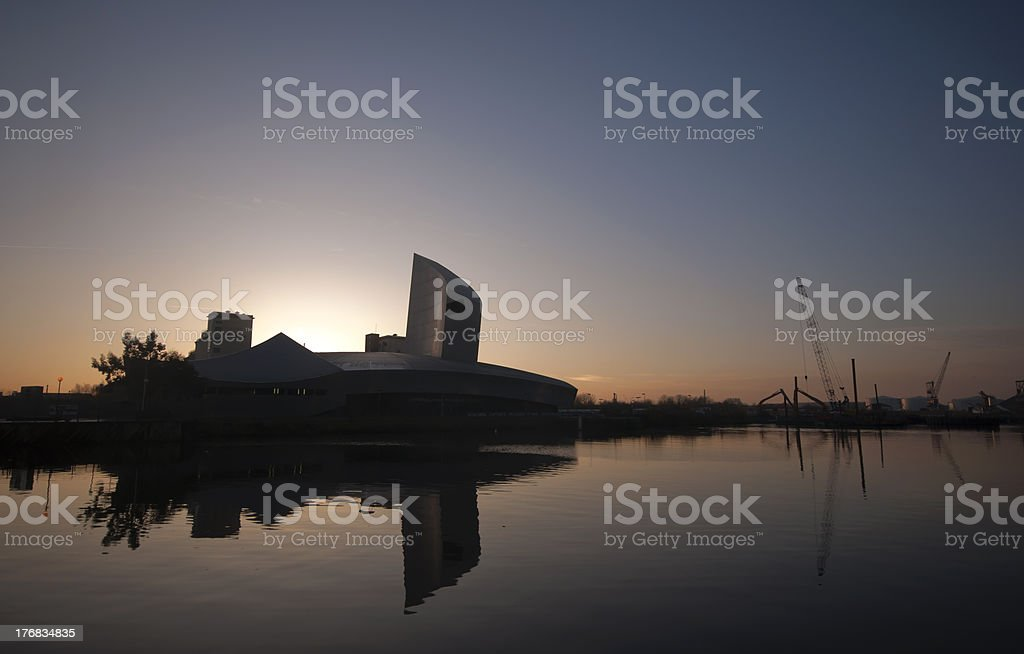 Salford Quays Imperial stock photo