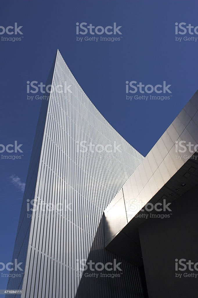 Salford Quays Imperial war museum stock photo