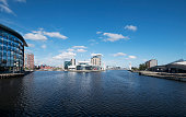 Salford Quays in the UK