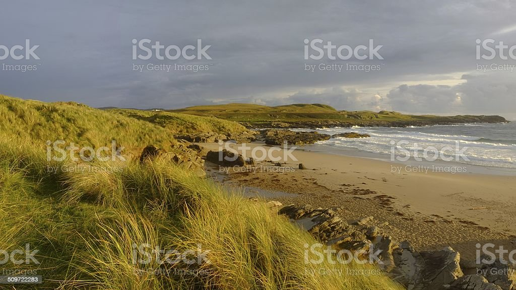 Saligo Bay stock photo