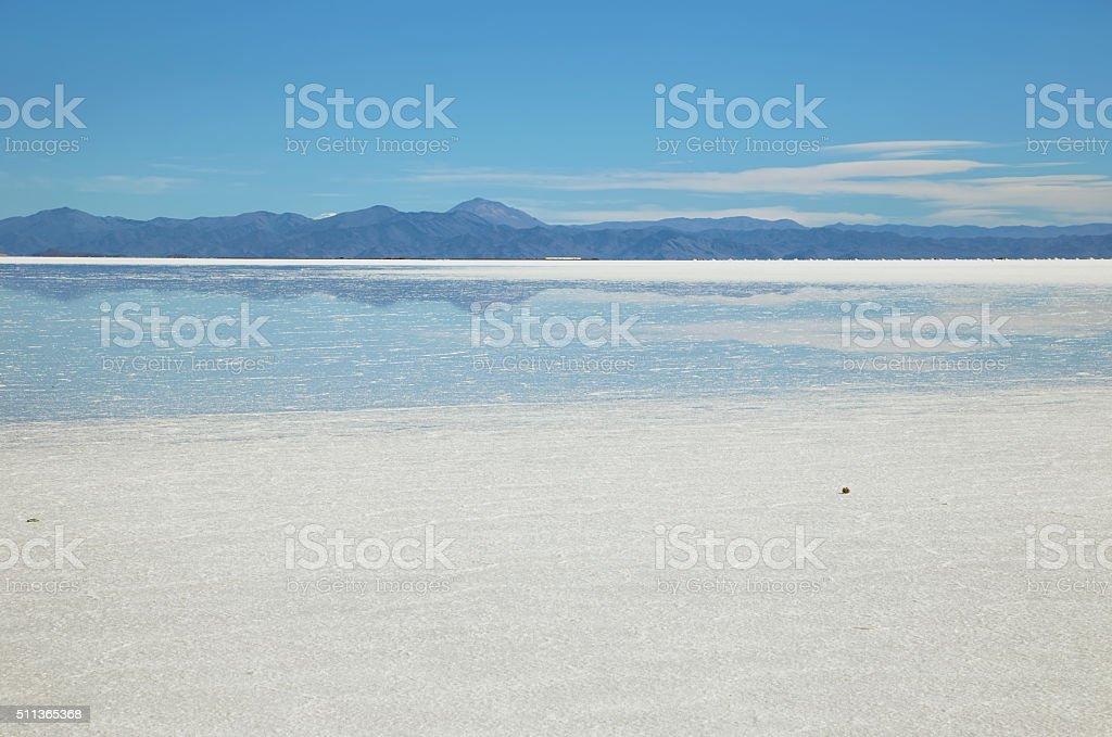 Salinas Grandes, Argentina stock photo