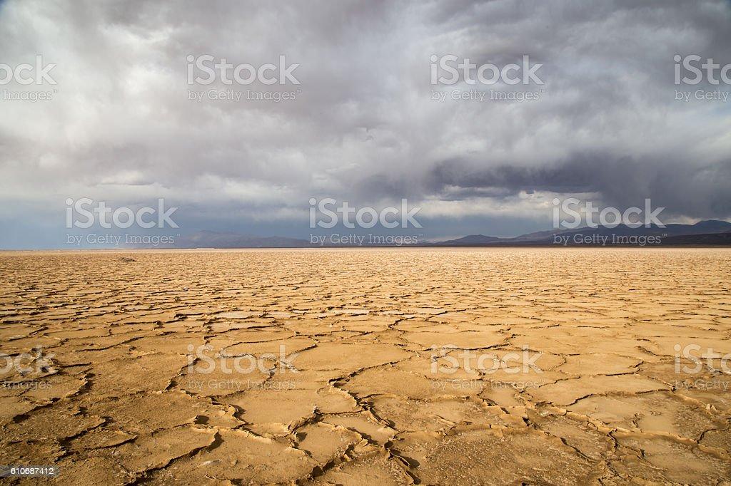 Salinas Grandes Argentina stock photo