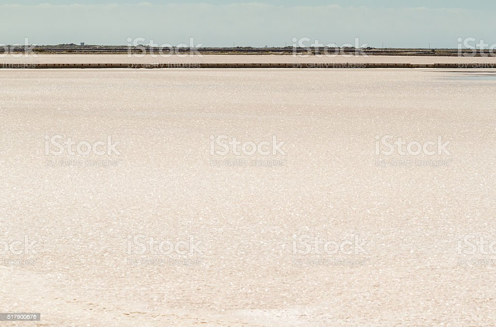 Saline Drip - Camargue - France stock photo