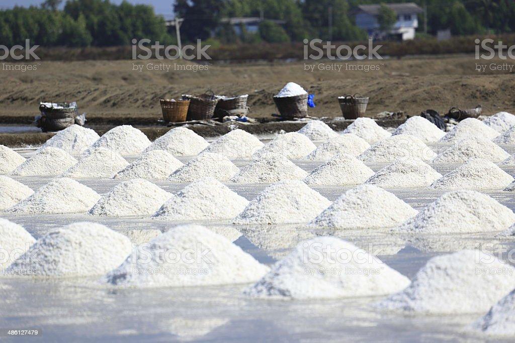 Saline stock photo