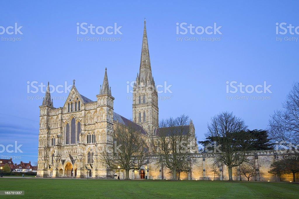 Salisbury Cathedral, England, UK stock photo