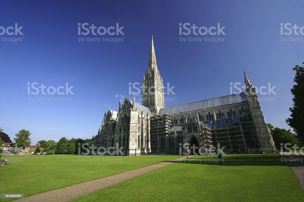 Salisbury Cathedral V stock photo