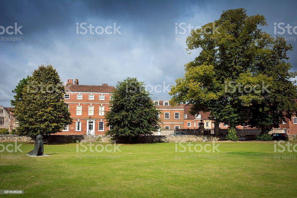Salisbury green stock photo