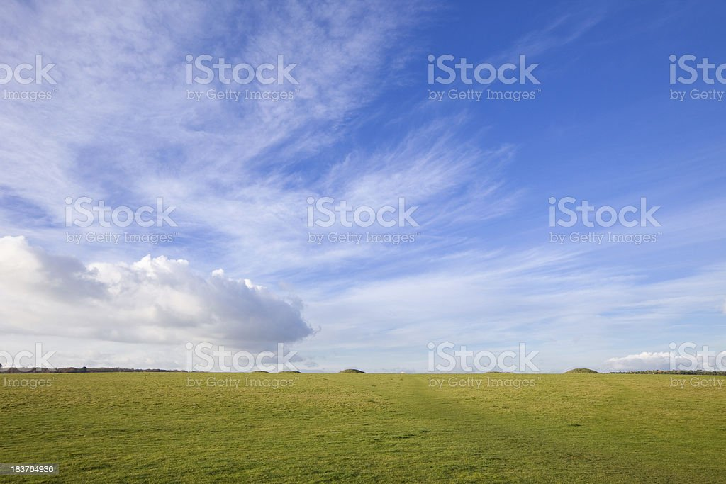 Salisbury Plain, England, UK stock photo