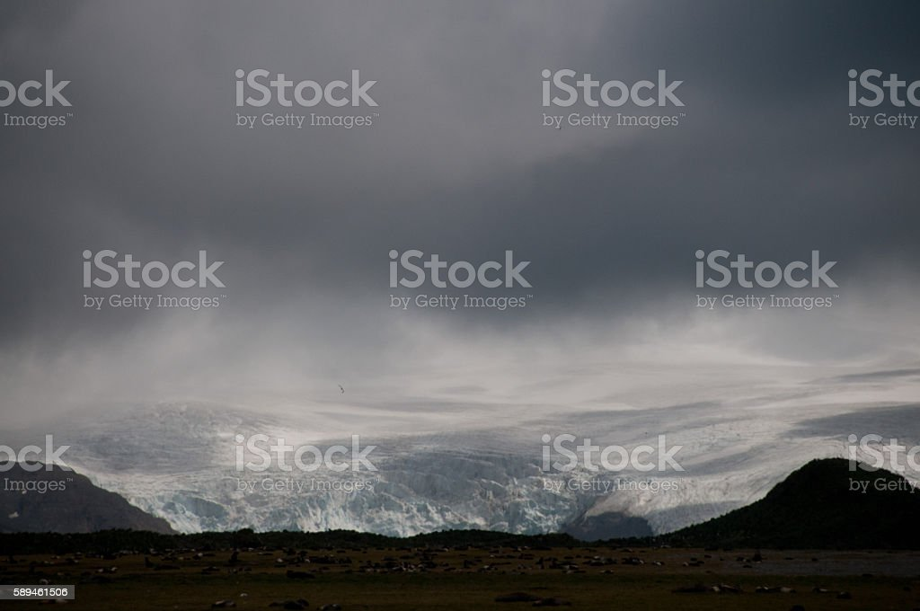 Salisbury Plains landscape stock photo