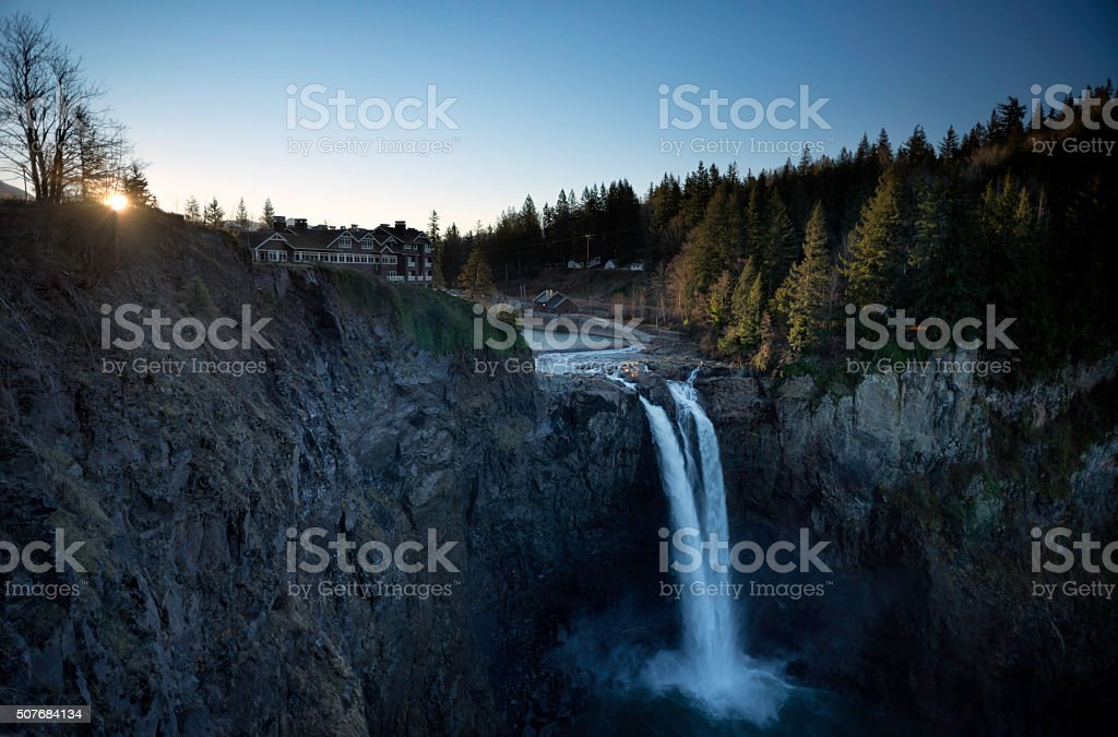 Salish Lodge & Spa stock photo