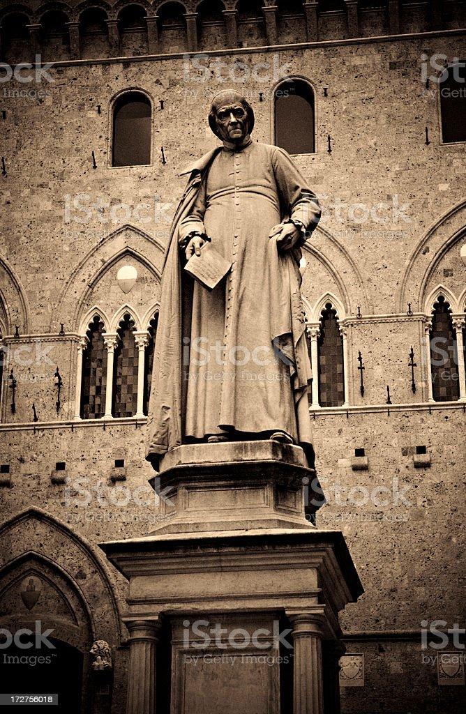 Sallustio Bandini statue stock photo