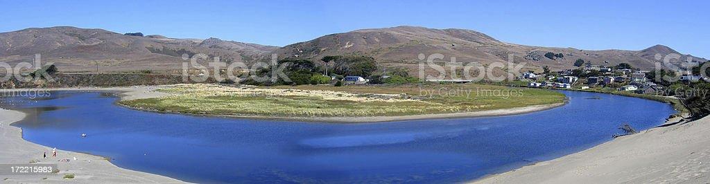 Salmon Creek Beach, Bodega Bay, CA. royalty-free stock photo