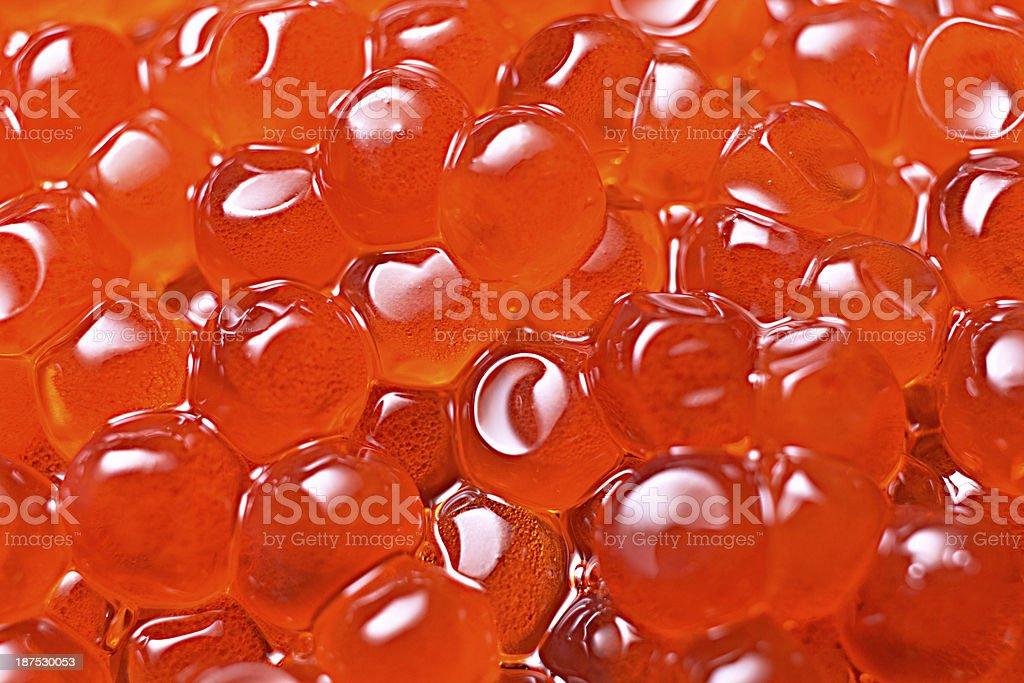 Salmon Egg stock photo