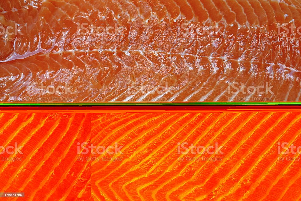 Salmon fillet royalty-free stock photo