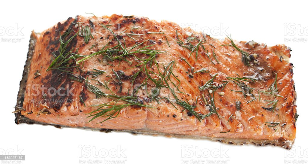Salmon fillet royalty-free stock photo