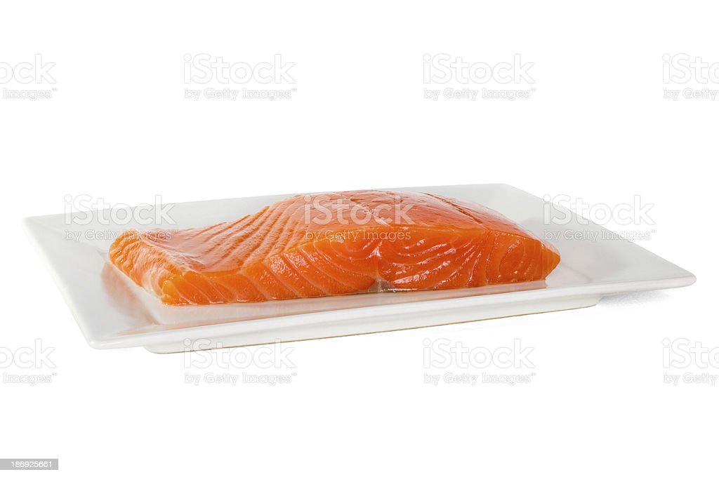 salmon fish royalty-free stock photo