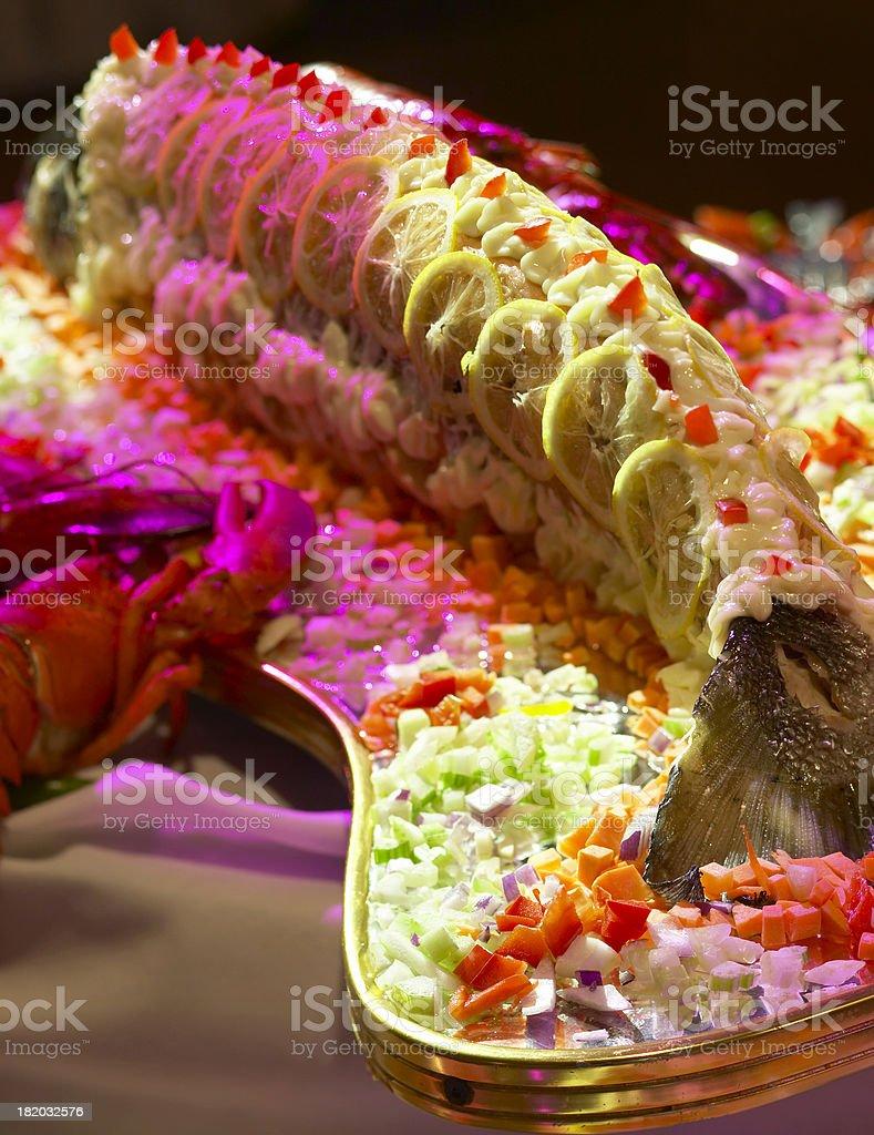 Salmon Galore royalty-free stock photo