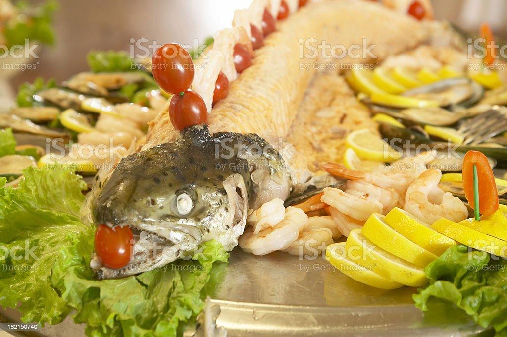 Salmon Galore stock photo