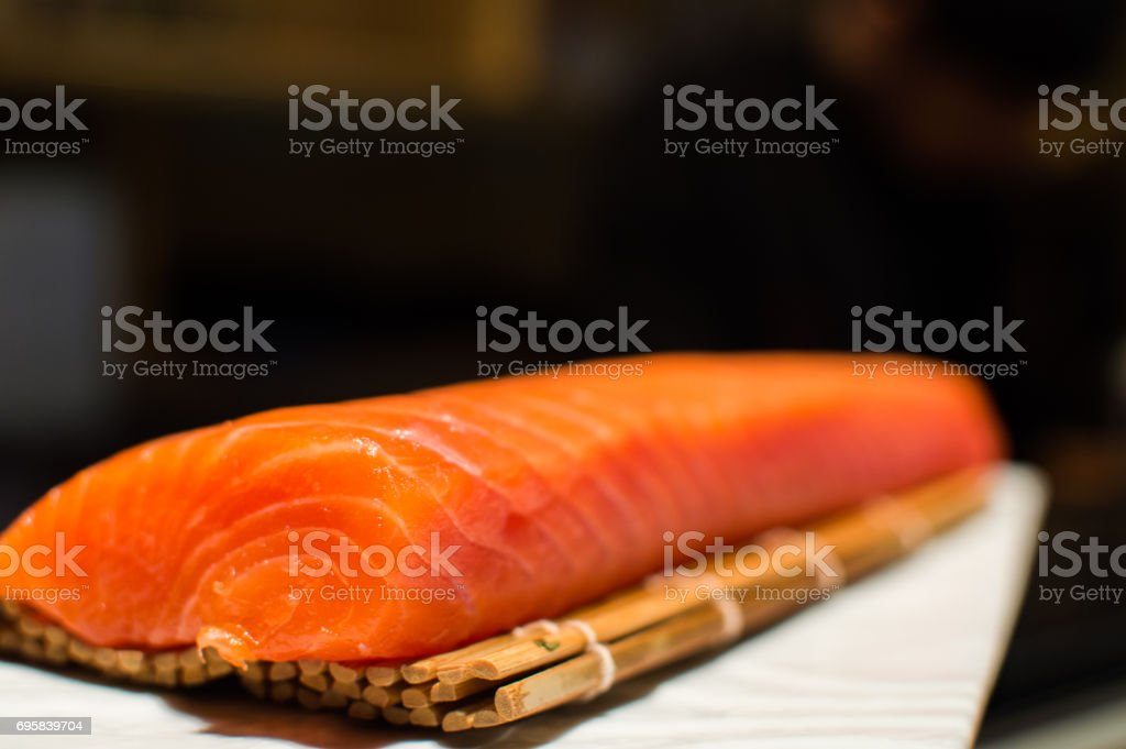 Salmón stock photo