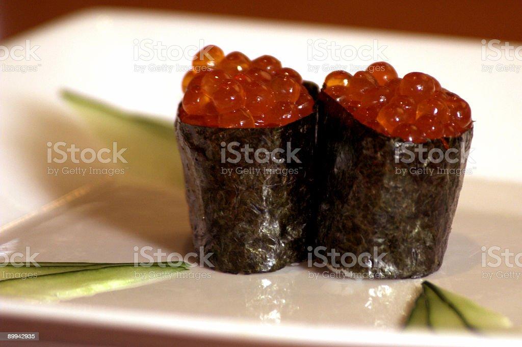 Salmon Roe royalty-free stock photo