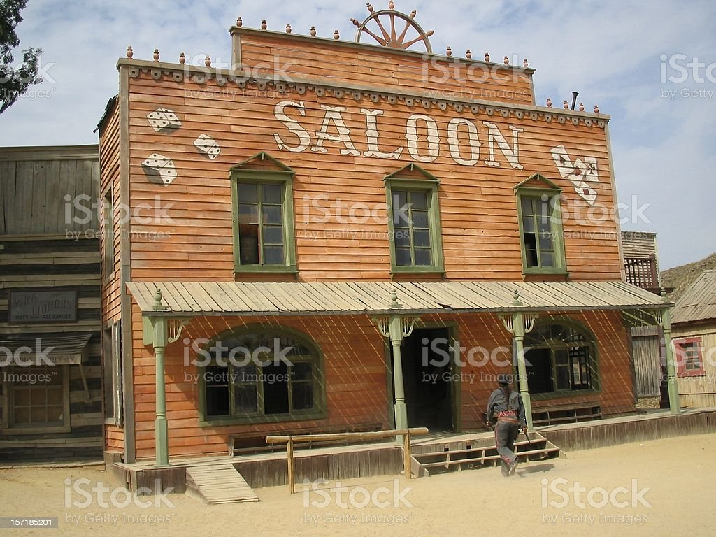 Saloon ..:: Far  West  Series::.. stock photo