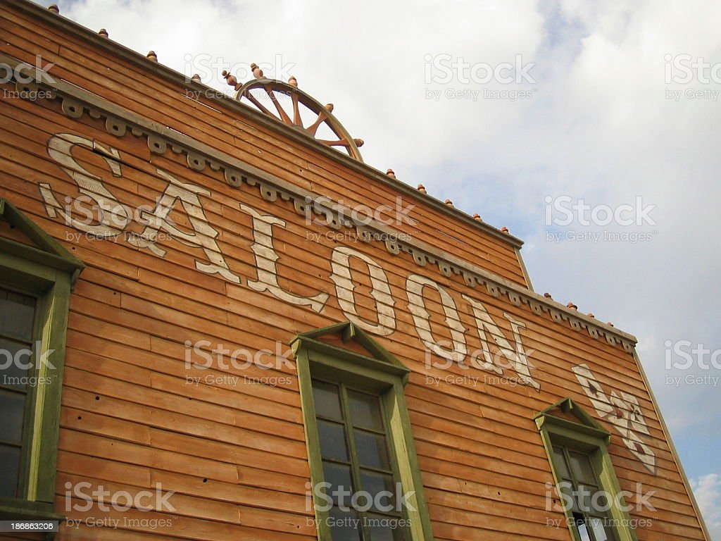 Saloon ..:: Far  West  Series::.. stock photo