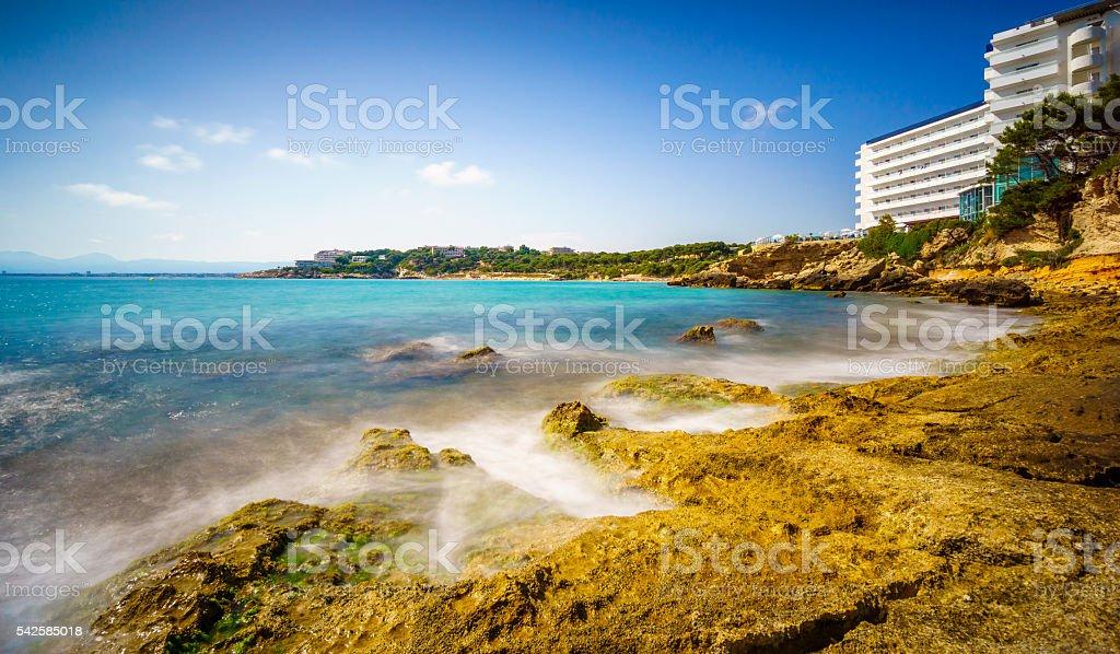 Salou Landscape stock photo