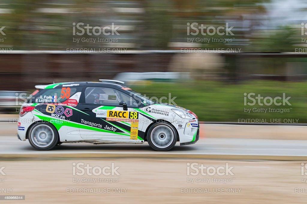 WRC Salou , Spain stock photo