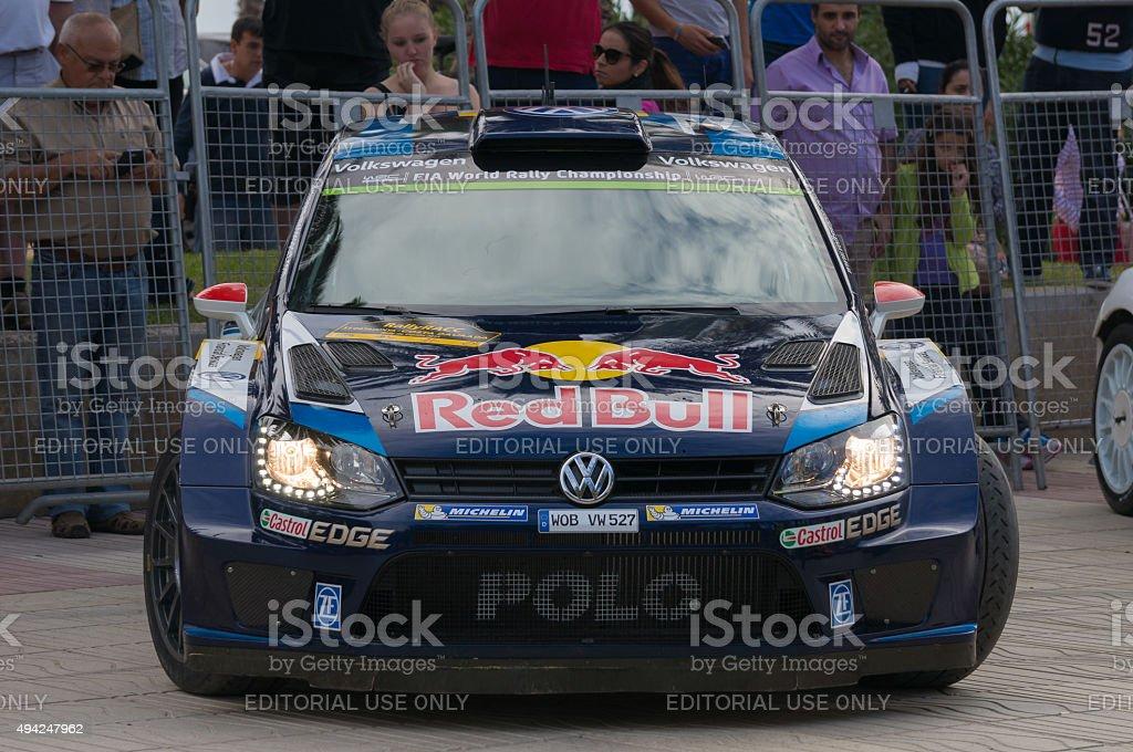 WRC Salou ,Spain stock photo