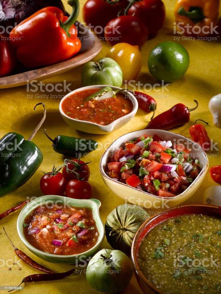 Salsa stock photo