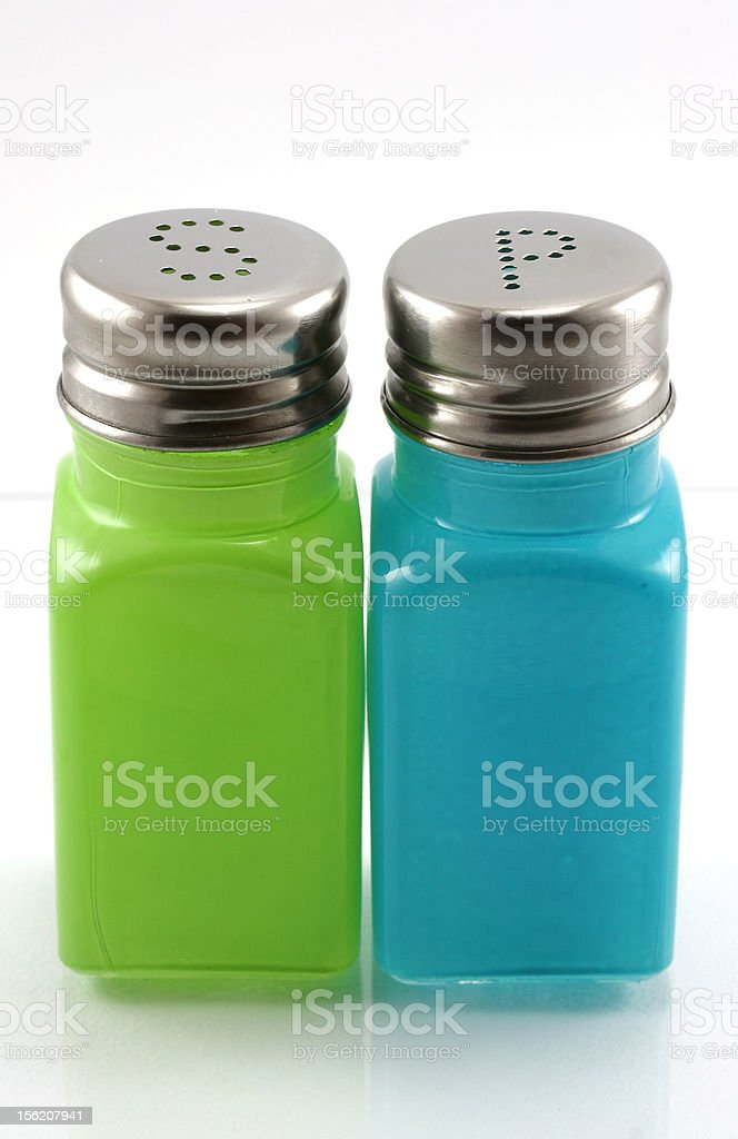 Salt & Pepper shakers royalty-free stock photo