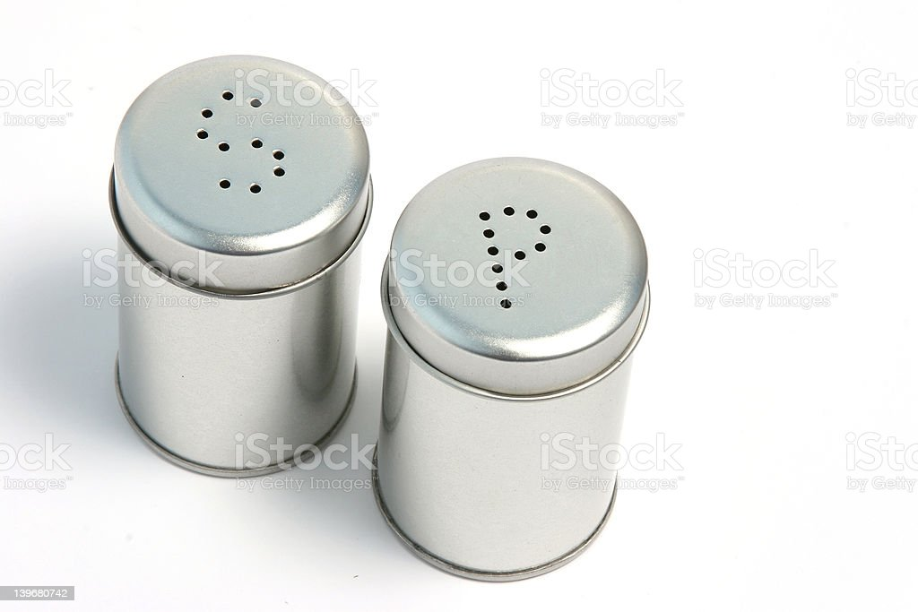 Salt and pepper 03 royalty-free stock photo