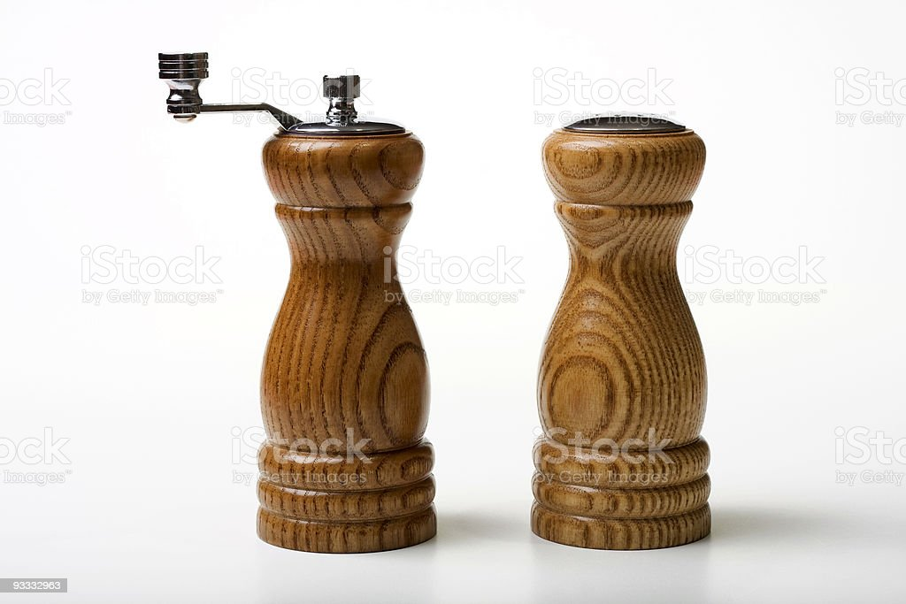 Salt and Pepper Dispensers royalty-free stock photo