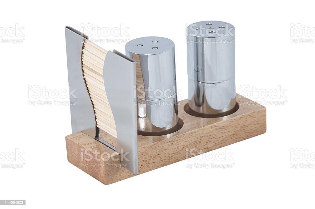 Salt and pepper frigate, with clipping path 1 royalty-free stock photo